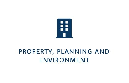 Propert, Planning and Environment